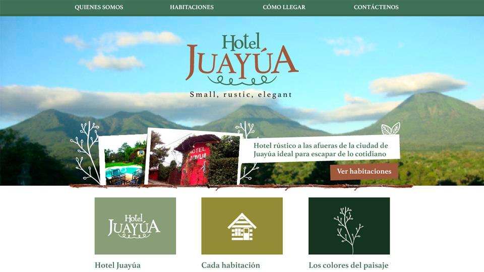 Sitio web hotel juayua 01