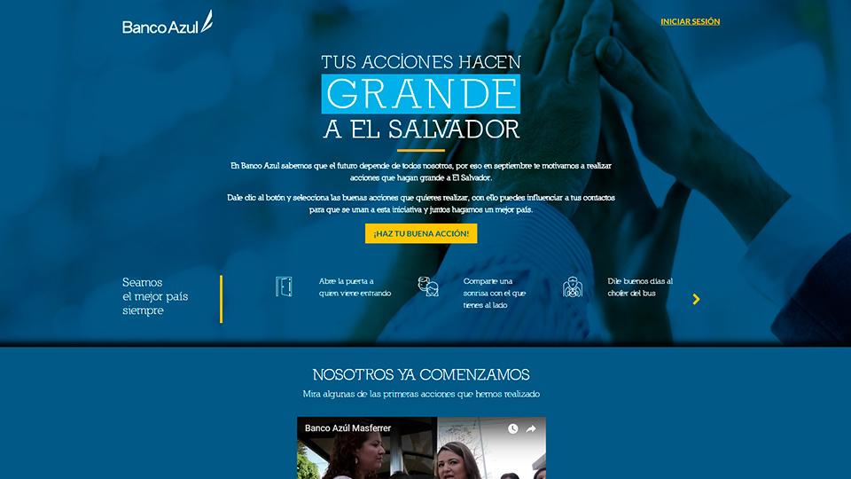 Social app banco azul 01