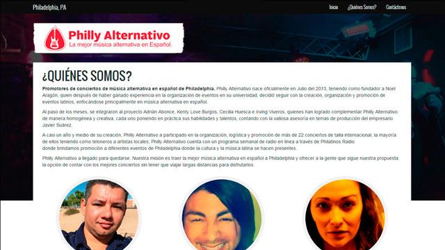 Sitio web philly alternativo 02