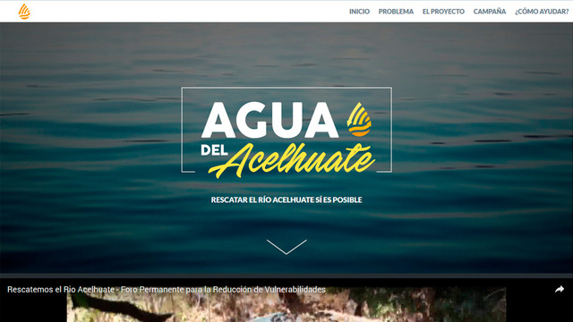 Sitio web agua del acelhuate 01
