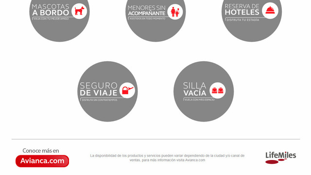 Sitio web avianca travel smart 02