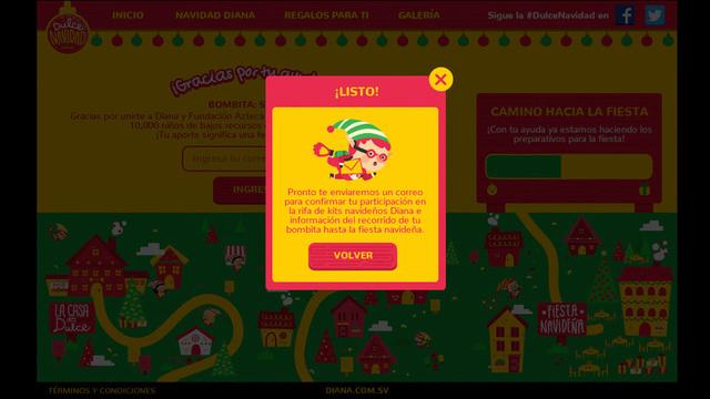 Sitio web dulce navidad diana 03