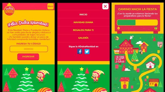 Sitio web dulce navidad diana 04