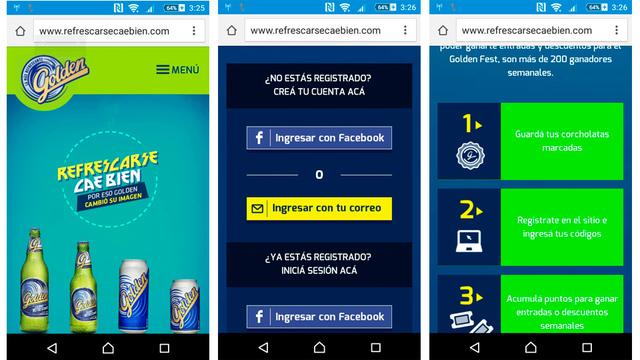 App social golden refrescarse 04