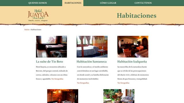 Sitio web hotel juayua 02