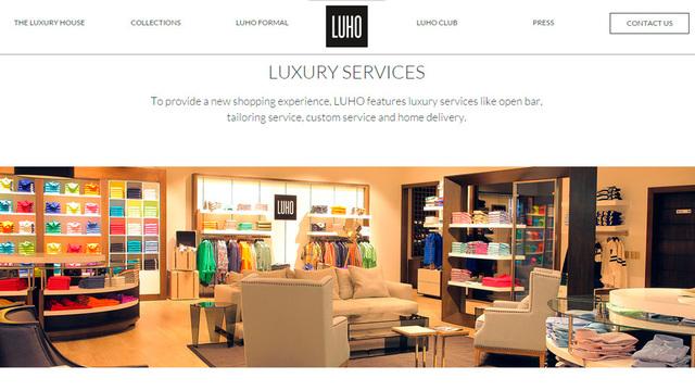 Sitio web luho 02 2