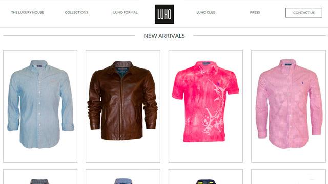 Sitio web luho 03