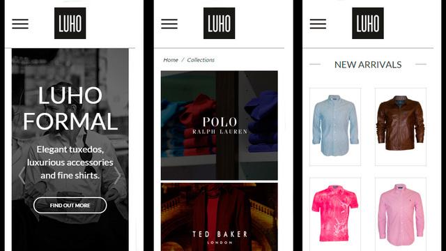 Sitio web luho 04 2