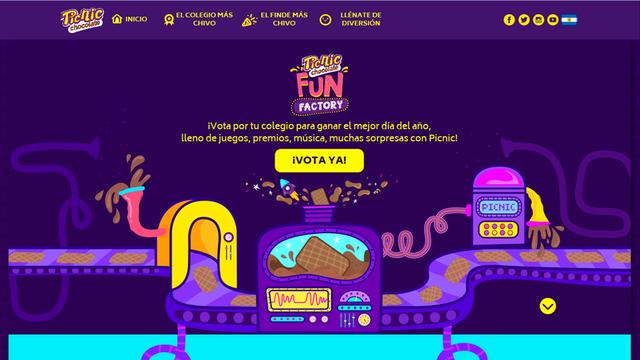 App social picnic fun factory 01