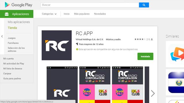 App movil rcapp 02