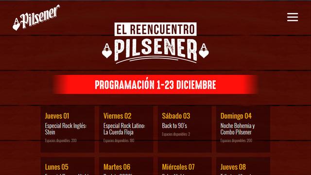App social reencuentro pilsener 03
