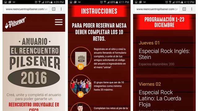 App social reencuentro pilsener 04