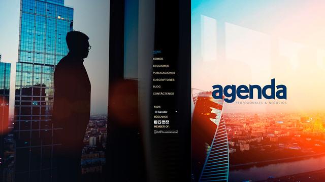 Sitio web revista agenda 01