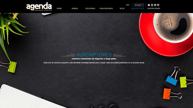 Sitio web revista agenda 03