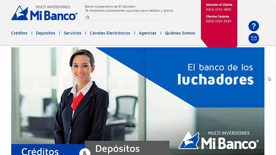 Sitio web mi banco 01